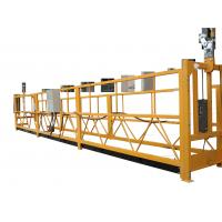 Wholesale Adjustable Temporary Suspended Work Platform For Elevator Installing / Ship Repairing from china suppliers