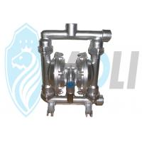 Wholesale Air Powered Stainless Steel Diaphragm Pump For High Viscous Liquid from china suppliers
