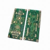 Wholesale Double-sided PCB with Gold Immersion, 0.4 to 3.2mm Minimum Track and 0.5oz Final Copper from china suppliers