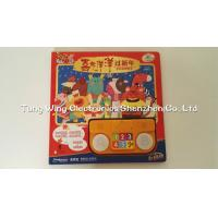 Wholesale 6 Button and 2 LED Module sound book for baby with Funny Nursery Rhyme from china suppliers