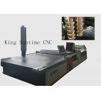 Wholesale High Performance Carpet Cutter Machine , Electric Fabric Cutting Machine 6180 * 3100 * 1500mm from china suppliers