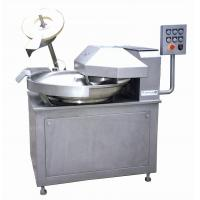Wholesale 80 Liter 3.15kW Meat Bowl Cutter machine With Dual - Ring Mixing Paddle from china suppliers