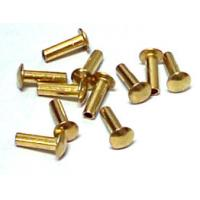 Wholesale Precision Hardware Parts Zinc / Chrome / Nickle Plating Rivets, Stainless Steel Rivets from china suppliers