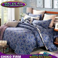 Wholesale CKKH011-CKKH015 Reactive Printed Single Queen King Size Twill Cotton Bedding Sets from china suppliers