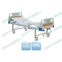 Wholesale Multi - Functions Manual hospital adjustable beds for home with Bedside cabinet from china suppliers