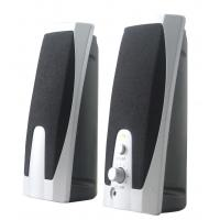 Wholesale Mini 2.0 Stereo Computer Speakers 3.5mm Headphone Jack With USB Input from china suppliers