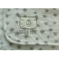 Quality Tear - Resistant Baby Swaddle Blankets Super Soft With SGS Certificate for sale