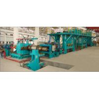 Quality High Efficiency Electrolytic Cleaning Line For Removing Oil / Scrap Iron for sale