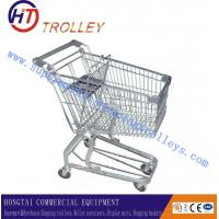 Wholesale Steel Material Store Shopping Carts Trolleys Galvanization With Seat 150L from china suppliers