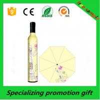 Wholesale Promotional Mens / Womens Custom Printed Umbrellas With Bottle Cap Handle from china suppliers