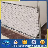 Buy cheap 316 Stainless steel Stairway Protecting Mesh/rope(cable) mesh from wholesalers