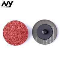 Wholesale Aluminiun Oxide Hard Quick Change Abrasive Discs ,  Roll Lock Abrasive Fiber Disc  1.5 Inch from china suppliers