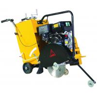 China Yellow Concrete Road Cutter with Honda Engine , 17cm / 6.7 inch Cutting Depth on sale