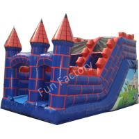Wholesale 15OZ PVC Tarpaulin Giant Inflatable Slide Double Lane For Party from china suppliers