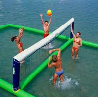 Wholesale Inflatable aqua park Sports, Inflatable Water Volleyball field from china suppliers