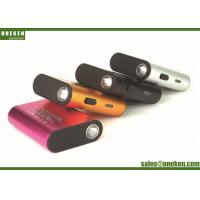 Wholesale 21 * 58 * 78mm Flashlight Power Bank Metal Case Silver 3000mAh / 6000mAh 125g from china suppliers