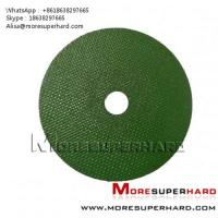 Wholesale green cut off wheel , cutting disc Alisa@moresuperhard.com from china suppliers