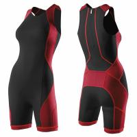 Wholesale Anti - UV Womens Wunning Wear With Rear Zipper Dry Fit Quickly from china suppliers
