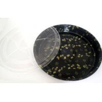 Wholesale Disposable Salad bowl PS Sushi tray with lid Round dia.355*H65mm from china suppliers