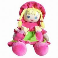 Quality Super Cute Plush Toy Doll with Colorful Design, Good for Children Playing for sale