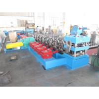 Wholesale Guardrail Steel Forming Machine Galvanized Road Safety Barrier Highway Roll Form Machine from china suppliers