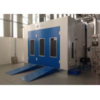 Wholesale Water Curtain Paint Spray Booth With Drying Oven Diesel Burner Heating Turbo Fan from china suppliers