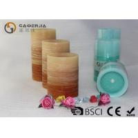 Wholesale Flat Top Flameless Led Candles With Remote Control Gradient Ramp Color from china suppliers
