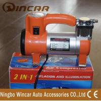 Wholesale Single Cylinder Tire Inflator Air compressor / portable air pump for car from china suppliers