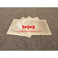 Wholesale Thin Diamond Square Knife Sharpening Tool Stone Plate Whetstone 60 - 3000 Grit from china suppliers