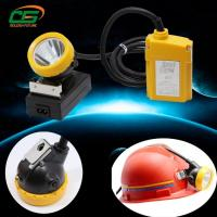 Wholesale DC4.2V 120 lumens led waterproof ip65 underground cord miners cap headlamp from china suppliers