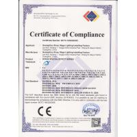 Guangzhou Xinyu Stage Lighting Installation Factory Certifications