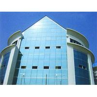 Wholesale Architectural Curved Glass Curtain Wall For Office Building , Heat Insulation from china suppliers