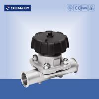 Wholesale Direct - Way Sanitary Diaphragm Valve  with Plastic Hand Wheel from china suppliers