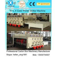 Buy cheap Manual Feeding Carton Making Machine / Paper Carton Printing Machine Witn Slotting Function from wholesalers