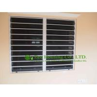Wholesale Aluminum Safe Glass Louvered windows with tinted glass, hurricane-proof Louvered windows from china suppliers