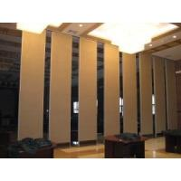 Wholesale Floor to Ceiling Wooden Room Divider Wall / Sound Proofing Movable Sliding Doors from china suppliers