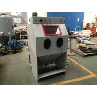 Buy cheap Small Type Dust Free Abrasive Blast Cabinets / Media Sandblasting Cabinet 900 * 600 * 580 mm from wholesalers