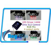 Wholesale Indoor 350MA 4 ways DMX RGB led controller compatible with AVR , meanwell PSU from china suppliers