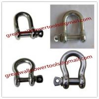 Wholesale best quality Standard D Shackle, pictures forged Shackle from china suppliers