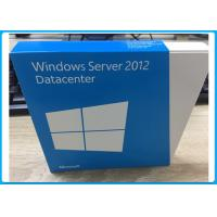 Quality 2 CPU English Version Windows Server 2012 Retail Box Datacenter 5 User DVD for sale