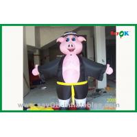 Wholesale Kids Bounce House Inflatable Pig Cartoon Character Large Inflatable Animals from china suppliers