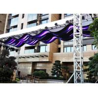 Quality Two Side Outdoor Full Color LED Screen Flexible Video Wall Displays Easy Install for sale