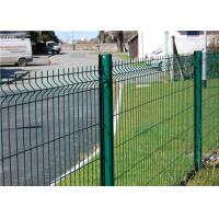 Wholesale Firm Structure  PVC Coated Wire Mesh Fence 5.0mm , Wire Garden Fencing from china suppliers