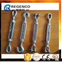 High Quality Carbon Steel Drop Forged Galvanized US Type Din1480 Turnbuckle