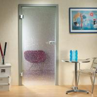 Pattern Obscure Tempered Glass Door AS 2208 Standard 10 mm Safety