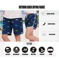 Buy cheap Men Beach Shorts 2017 New Arrivals Summer Dress Quick Dry Elastic Waist Cotton Drawing 4 Colors Prints Dolphin Animal  c from wholesalers