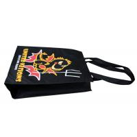 Wholesale Black Promotional Non Woven Fabric Carrier Bags 90gsm For Supermarket from china suppliers