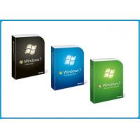 Quality microsoft Windows 7 Pro Retail Box windows 7 professional sp1 64 bit COA DELL OEM Product Key for sale