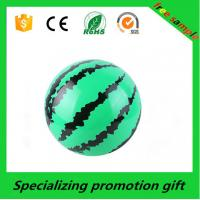 Wholesale Promotional Outdoor Essential Products , Watermelon Personalized Beach Balls from china suppliers