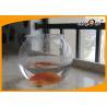 Buy cheap Beautiful 4L Round PET Plastic Fish Bowl , Aquarium Fish Tank For Home Decorative from wholesalers